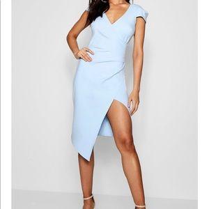Midi wrap dress (NWOT)
